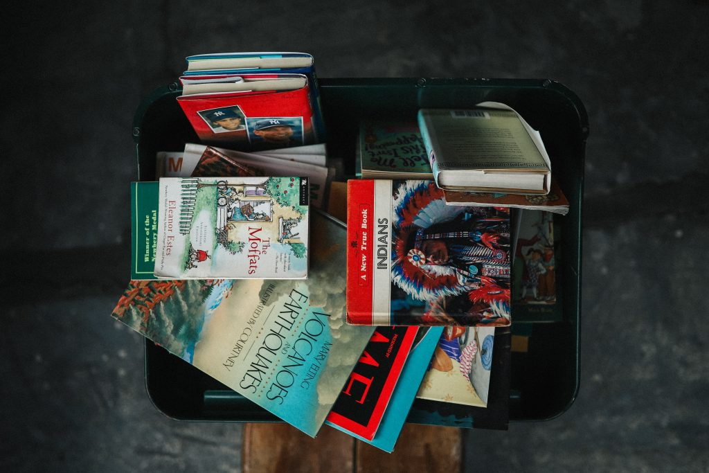 Pakowanie książek i czasopism do przeprowadzki