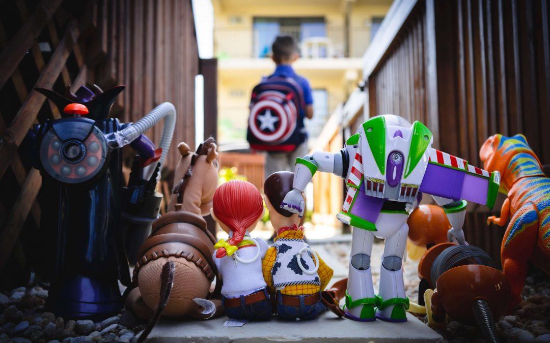 6 porad na pakowanie zabawek do przeprowadzki